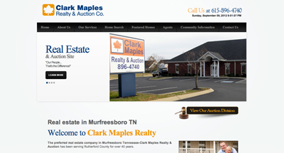 Clark Maples Real Estate - No Flash